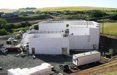 Concrete buildings commercial construction concrete for Icf home design software